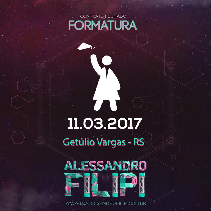 Dj Alessandro Filipi @ Clube Centenário - Getúlio Vargas, Brazil