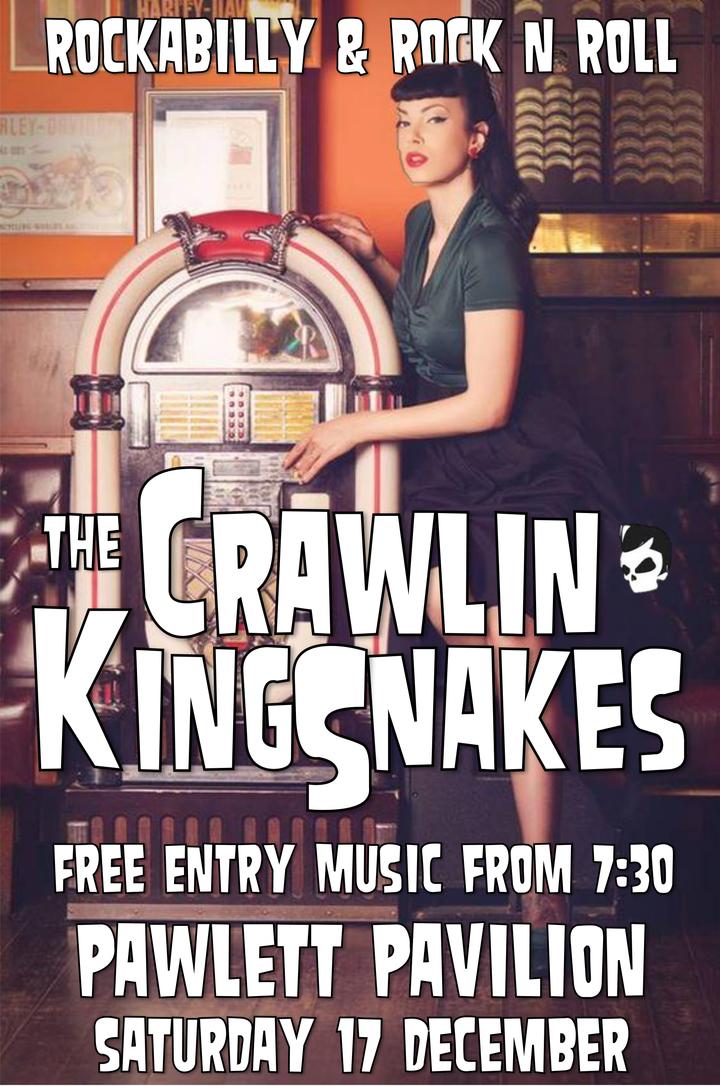 The Crawlin' Kingsnakes @ Pawlett Pavilion - Bridgwater, United Kingdom