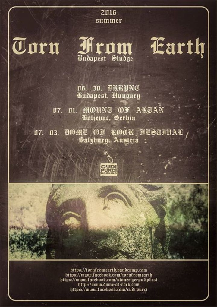 Torn From Earth Tour Dates