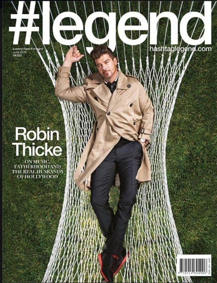 Robin Thicke Tour Dates