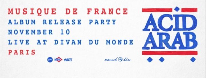 Acid arab paris concert tickets acid arab divan du for Divan du monde