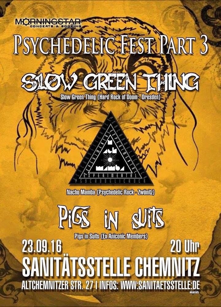 SLOW GREEN THING @ Sanitätsstelle - Chemnitz, Germany