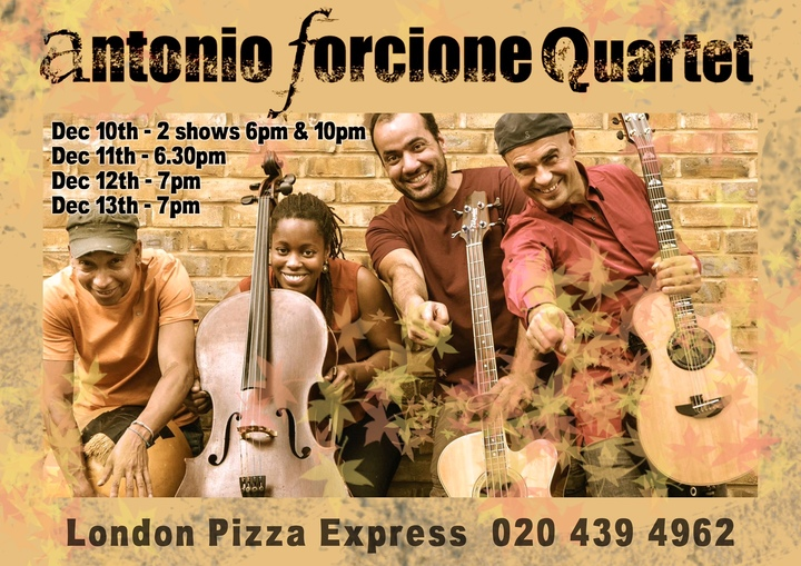 Antonio Forcione Fun Club @ Pizza Express Jazz Club - London, United Kingdom