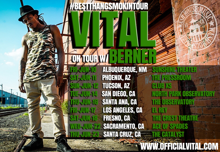 Vital Deshawn Tour Dates