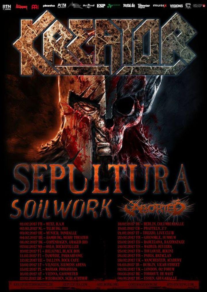 Kreator Tour Dates