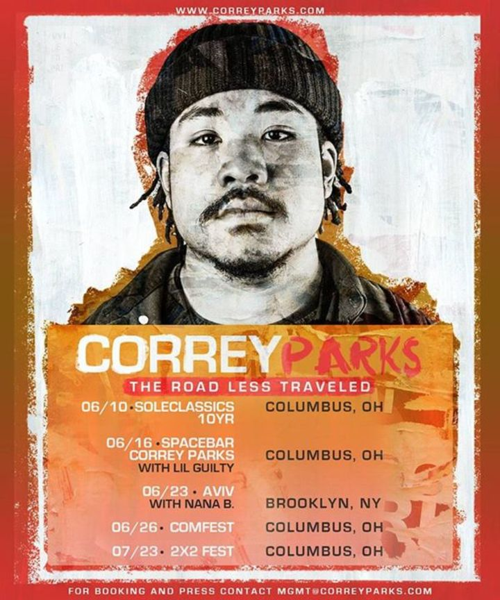 Correy Parks Tour Dates