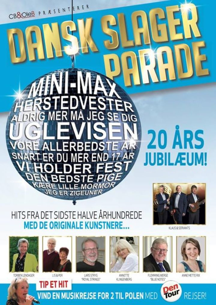 DANSK SLAGER PARADE Tour Dates