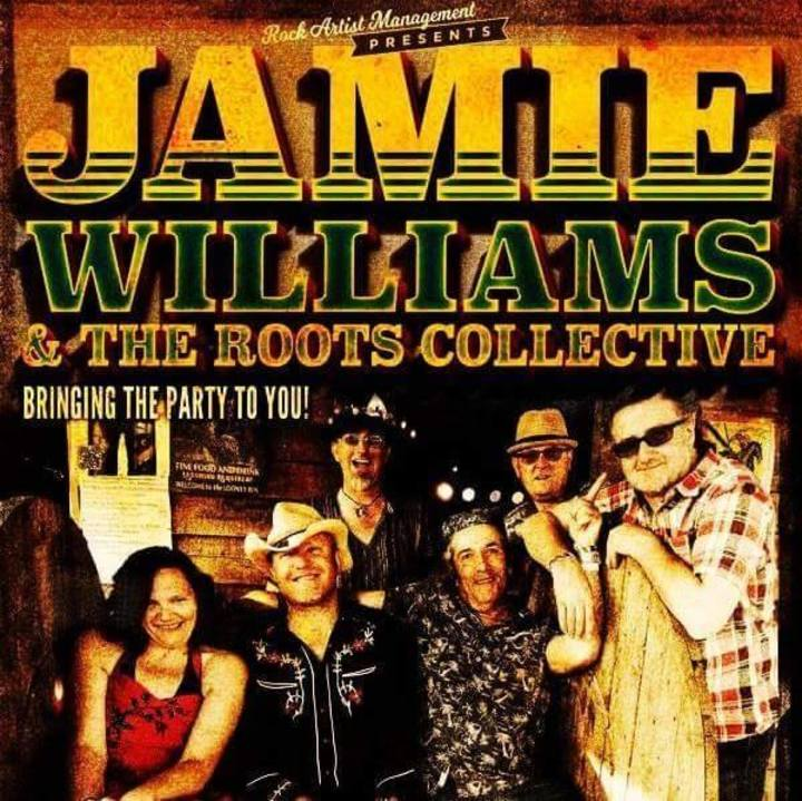 Jamie Williams & the Roots Collective Tour Dates