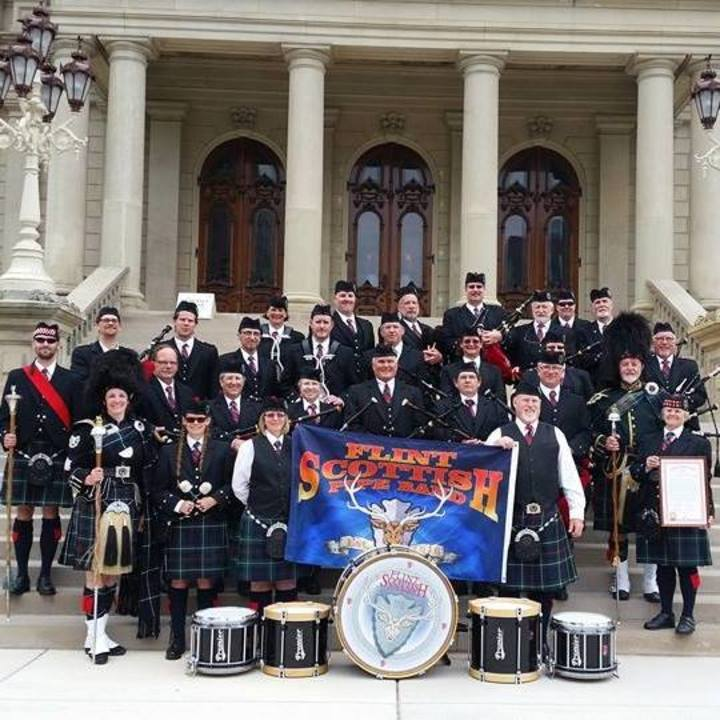 Flint Scottish Pipe Band Tour Dates