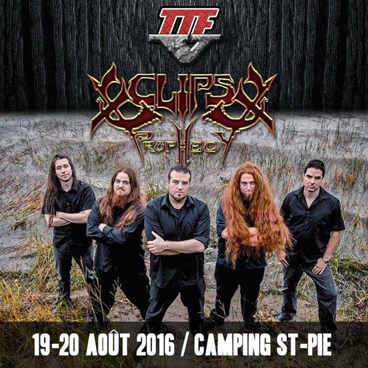 Eclipse Prophecy Tour Dates