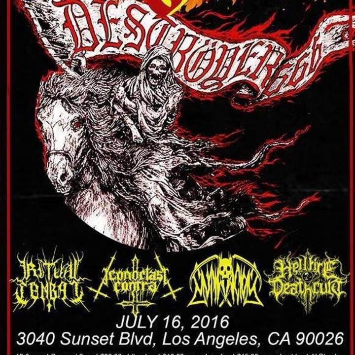 Mutilacion Tour Dates