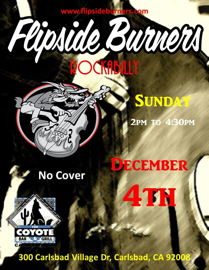 Flipside Burners @ Coyote Bar & Grill - Carlsbad, CA