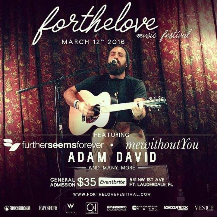 Adam David Tour Dates