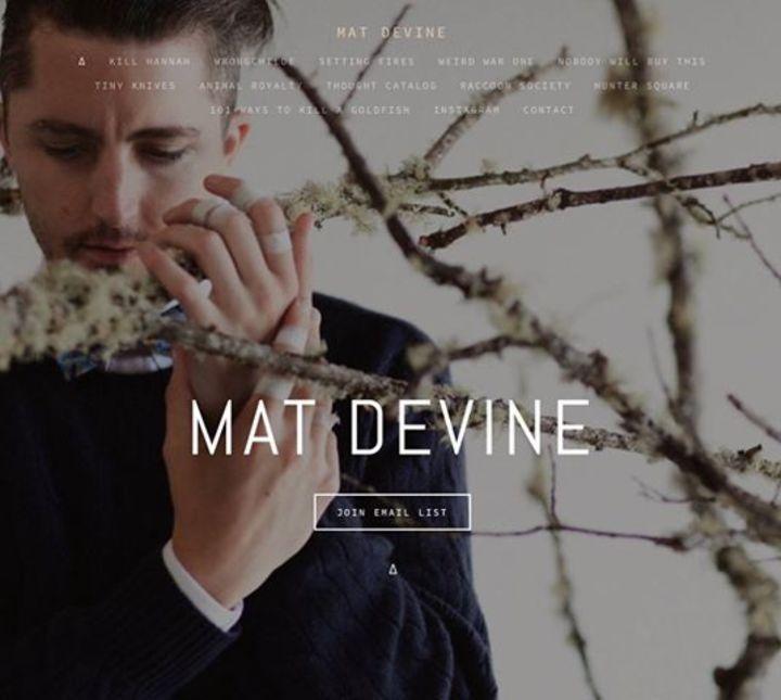 Mat Devine Tour Dates