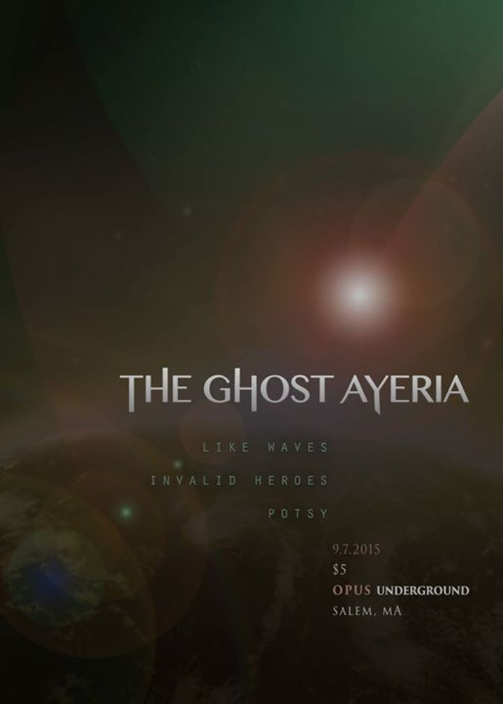 The Ghost Ayeria Tour Dates