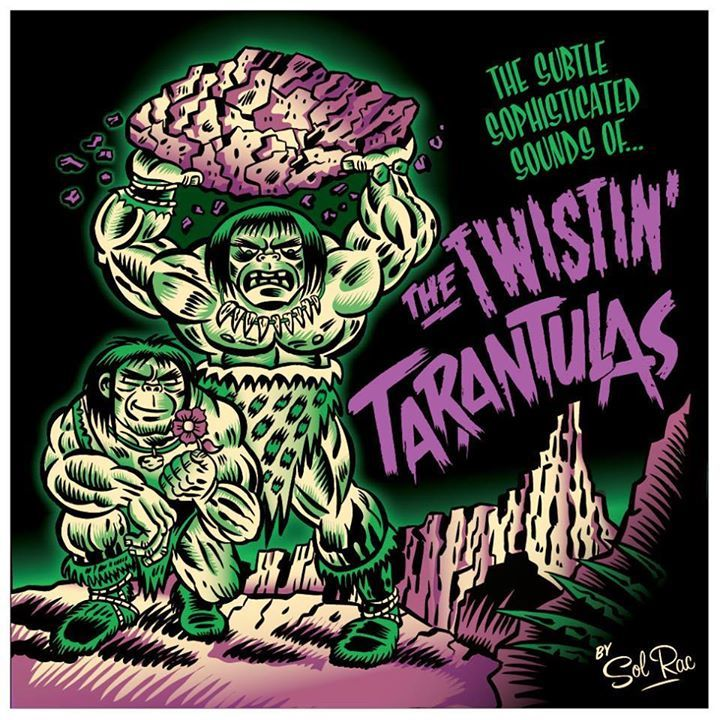Twistin' Tarantulas Tour Dates