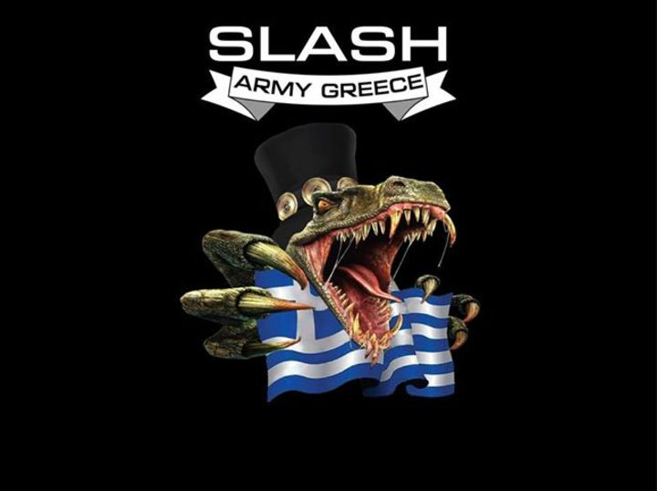 Slash Army Greece Tour Dates