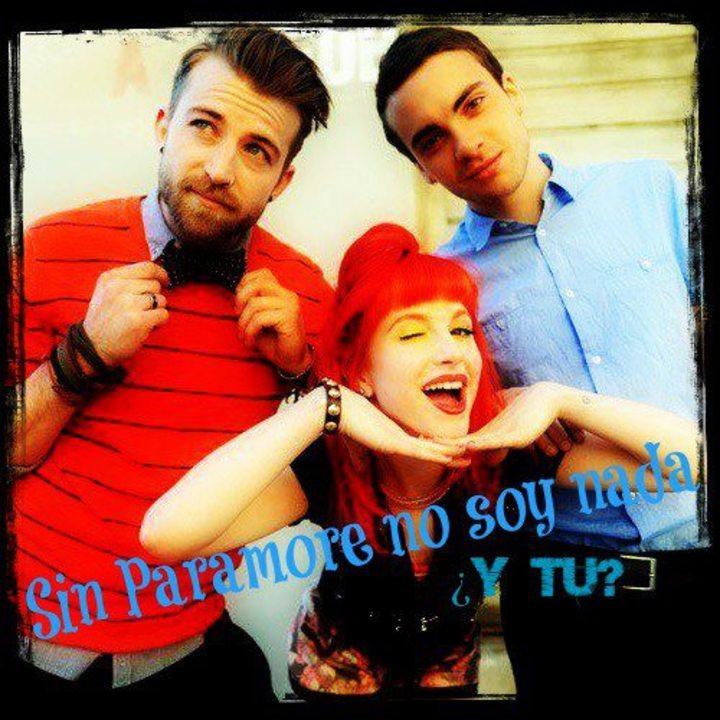 Sin Paramore no soy nada Tour Dates