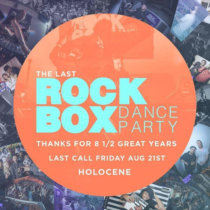 Rockbox Dance Party Tour Dates