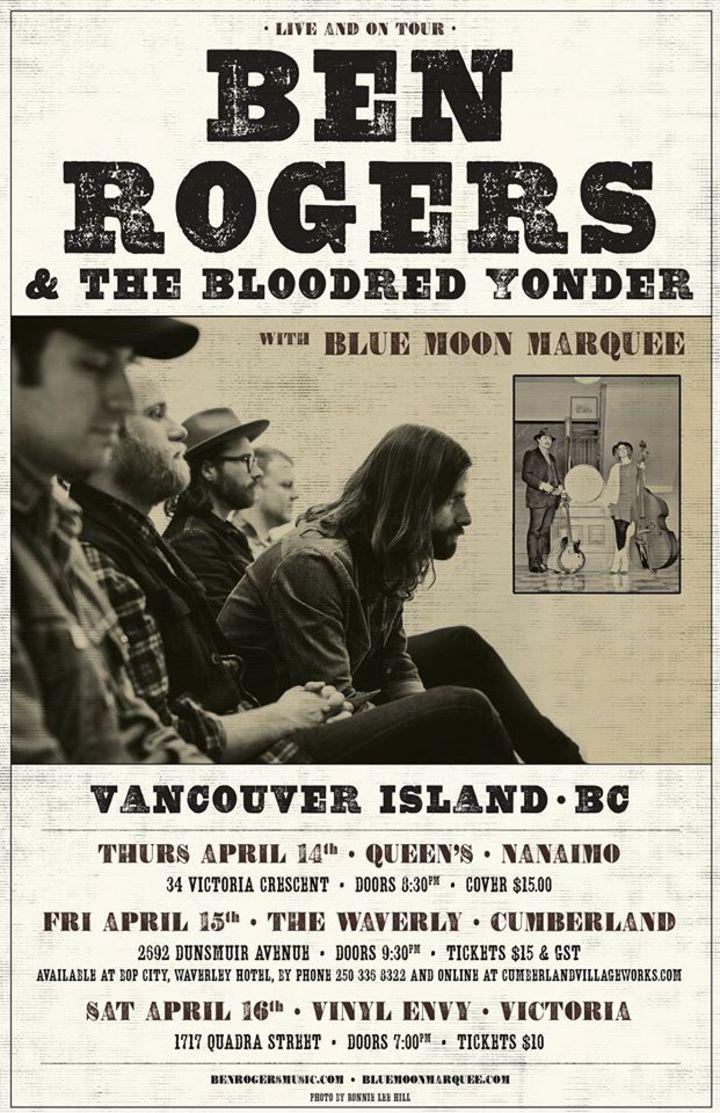 Ben Rogers Tour Dates