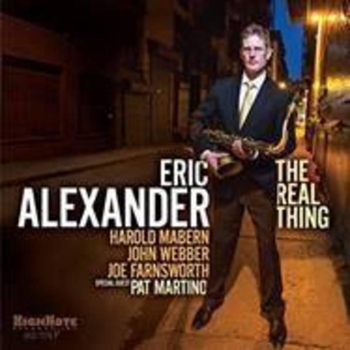 Eric Alexander Tour Dates