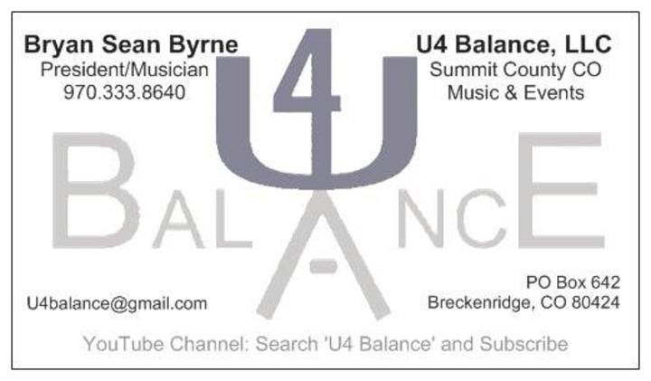 U4 Balance Tour Dates