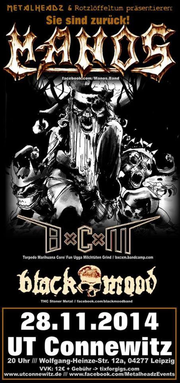 BxCxM Tour Dates