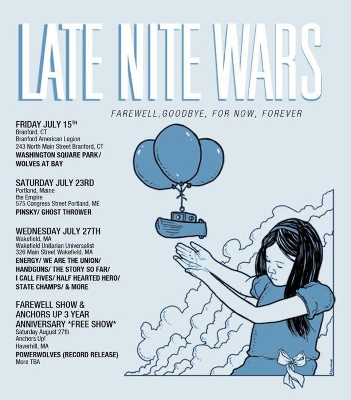 Late Nite Wars Tour Dates