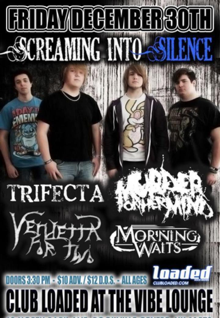 Screaming Into Silence Tour Dates