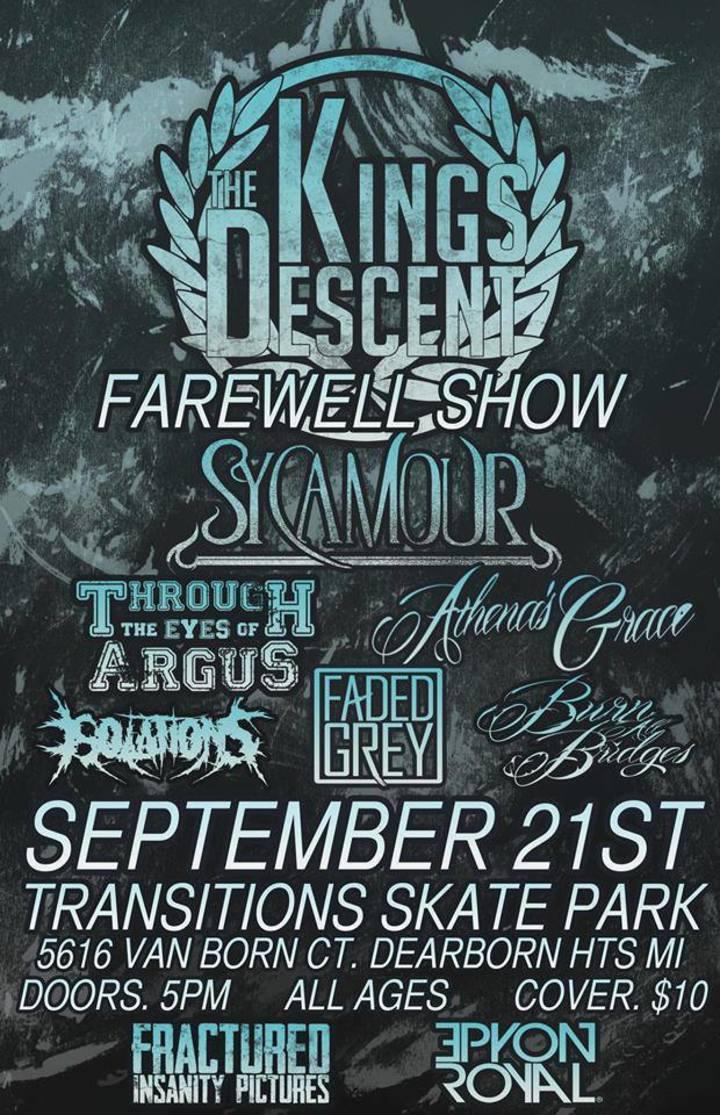The Kings Descent Tour Dates