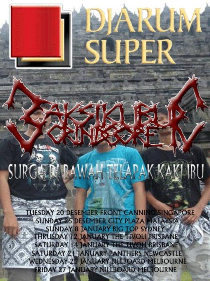 SAKSIKUBUR (GRINDCORE) Tour Dates