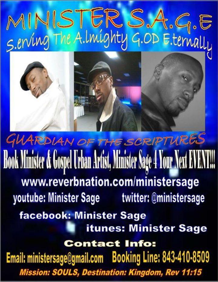 Minister Sage Tour Dates