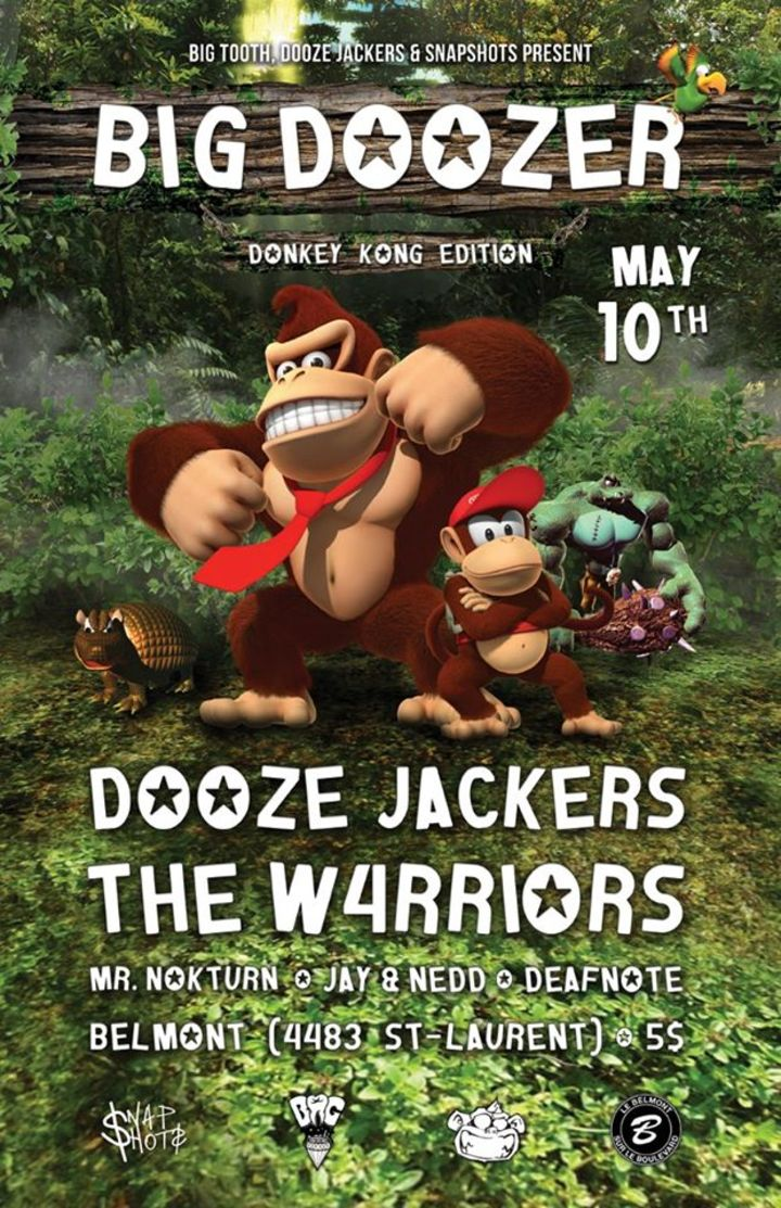 Dooze Jackers Tour Dates