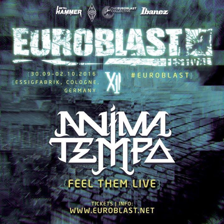 Anima Tempo Tour Dates