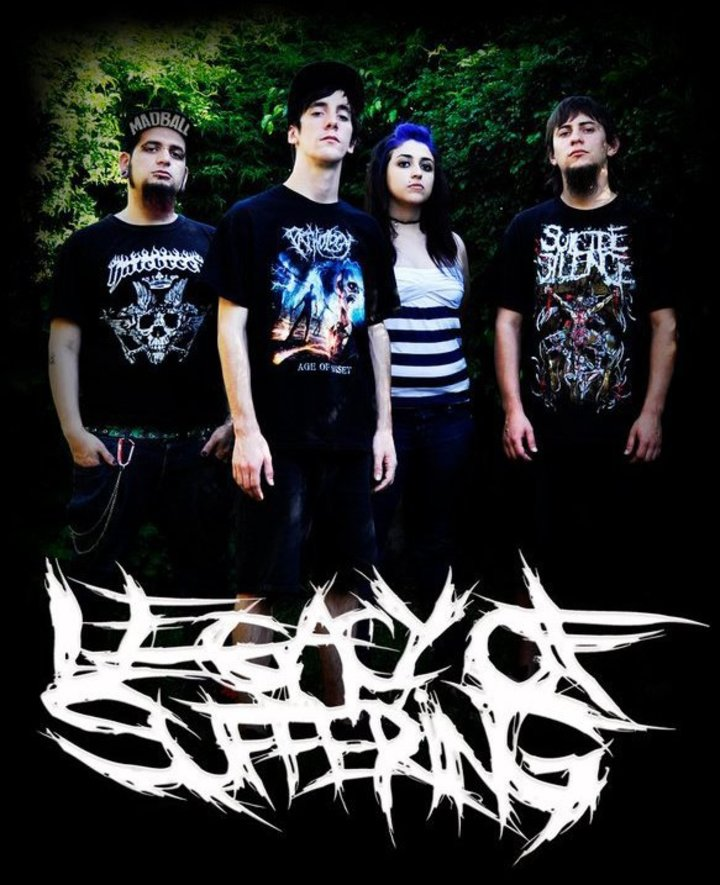 Legacy Of Suffering Tour Dates