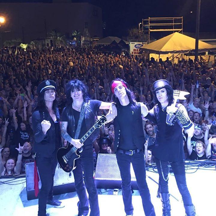 L.A. Guns Tour Dates