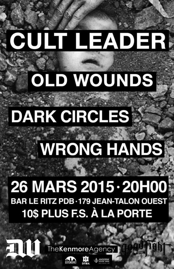 Wrong Hands Tour Dates