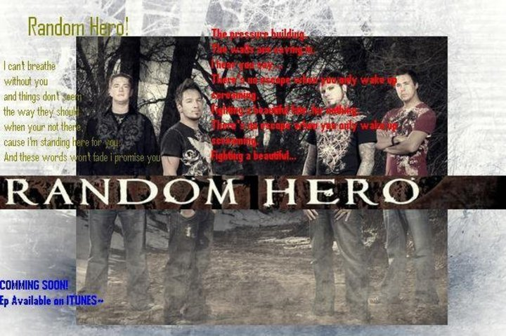 Colorado's Official Random Hero Fan Page Tour Dates