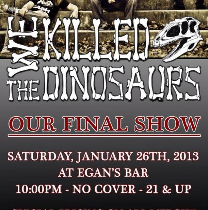 We Killed The Dinosaurs Tour Dates
