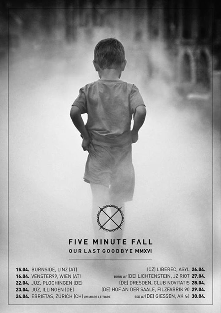Five Minute Fall Tour Dates