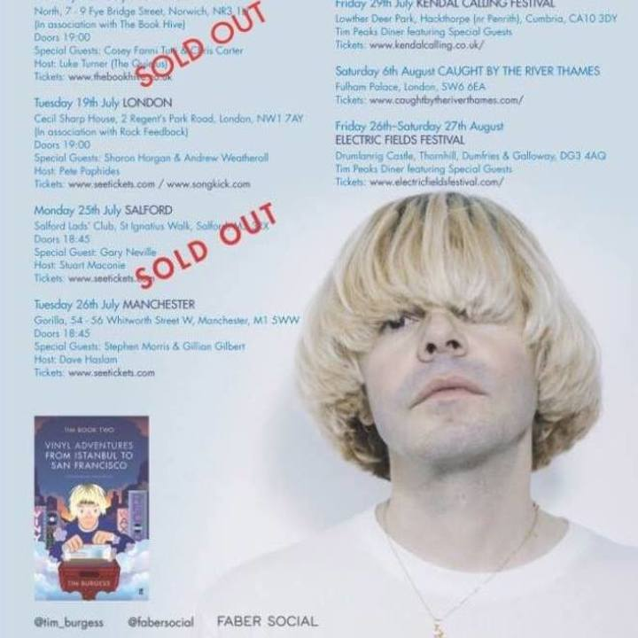 Tim Burgess Tour Dates