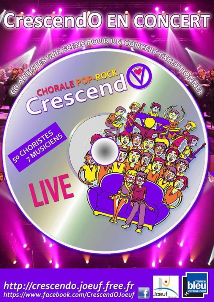CrescendO Joeuf Tour Dates