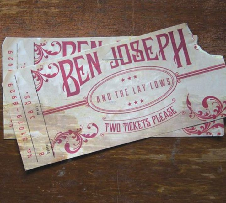 Ben Joseph & The Lay-Lows Tour Dates
