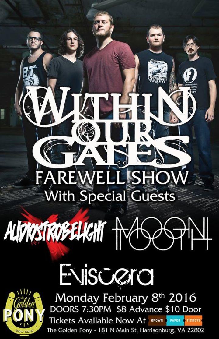 Within Our Gates Tour Dates