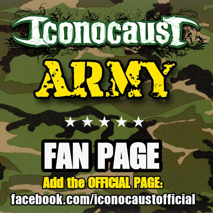 ICONOCAUST Tour Dates
