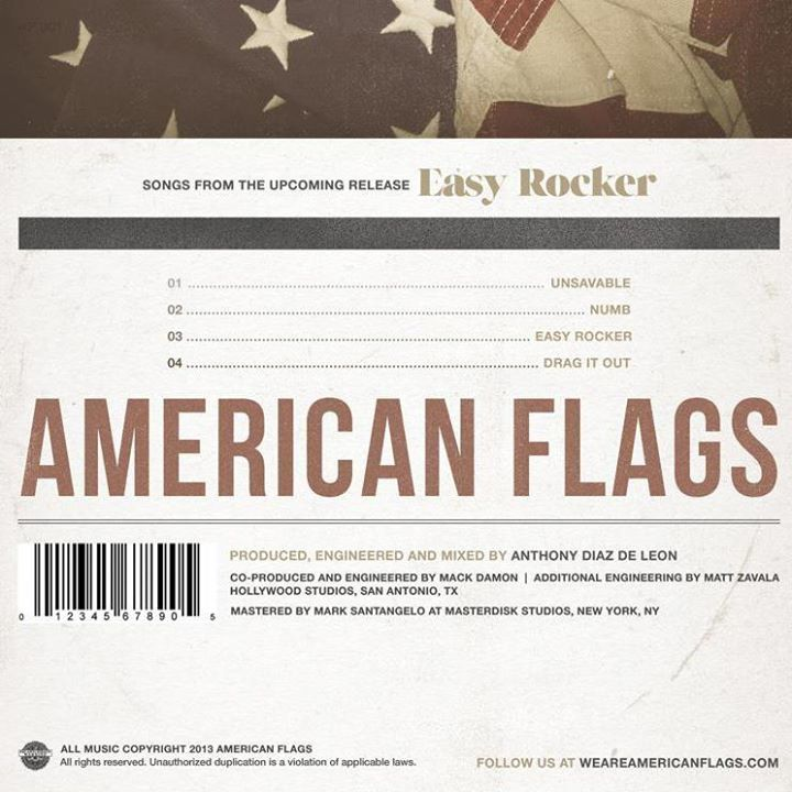 American Flags Tour Dates