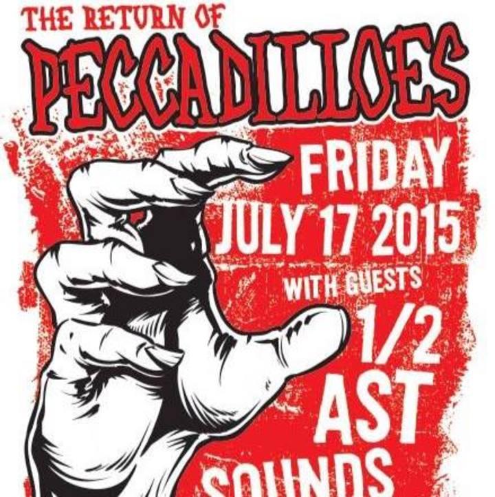 Peccadilloes Tour Dates