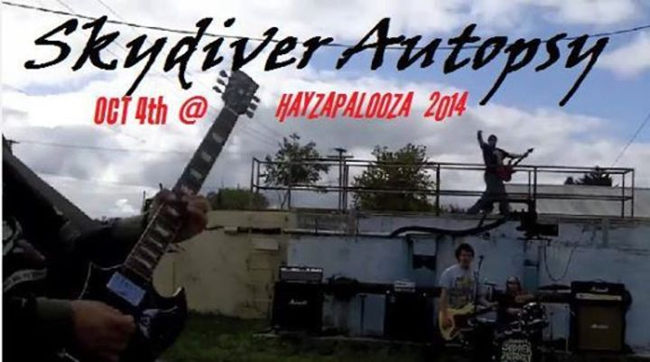 Skydiver Autopsy Tour Dates