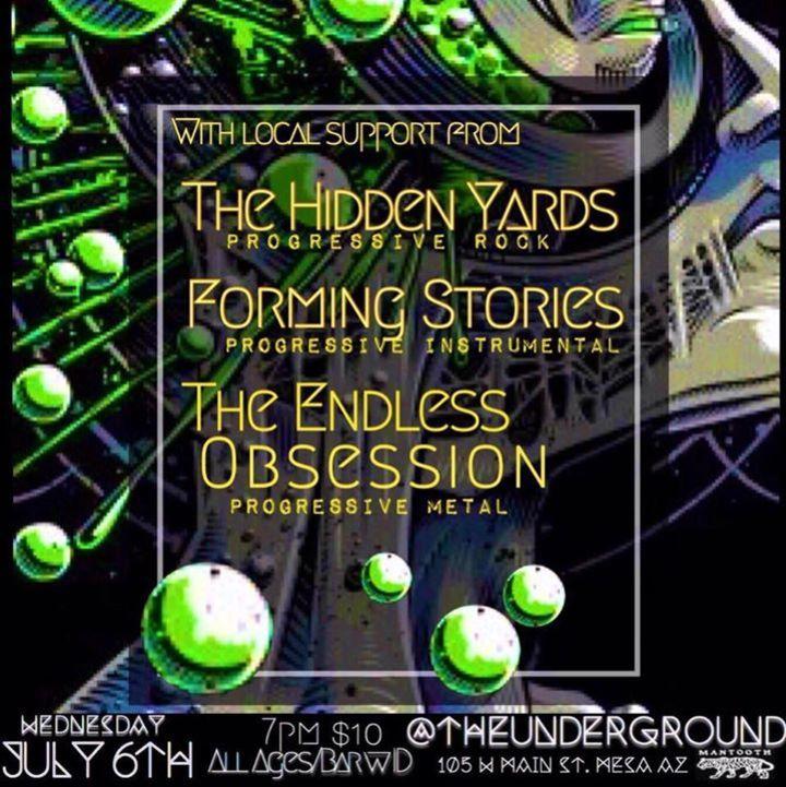 The Hidden Yards Tour Dates