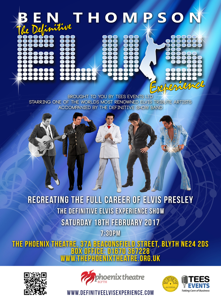 Ben Thompson  Elvis Tribute Artist @ The Phoenix Theatre - Blyth, United Kingdom